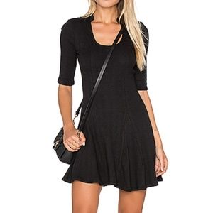 NEW Free People Jolene Ribbed Mini Dress M